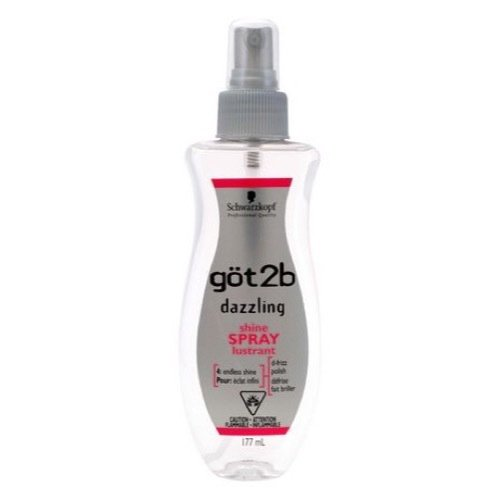 got2b Dazzling Shine Spray 6-Ounce Bottle, (2000248) Schwarzkopf