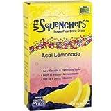 Now Foods Acai Lemonade Sugar Free Drink Sticks - 12 1.7 oz. Sticks 3 Pack