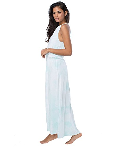 [Spiritual Gangster - Skywash Halter Maxi Dress] (Gangster Dresses)