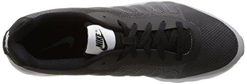NIKE Mens Air Max Invigor Print Running Shoes Black/White/Wolf Grey D3uJg