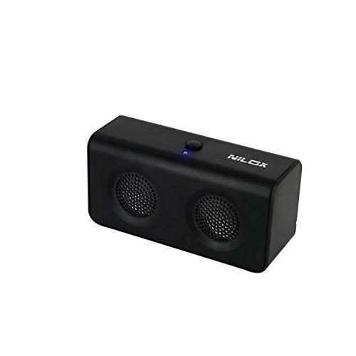 Nilox 10NXPSJ3C3003 Altoparlante portatile stereo 4W Nero altoparlante portatile