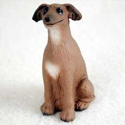 Italian Greyhound Miniature Dog Figurine