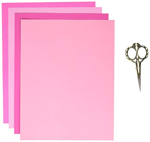 Perfect Pinks Card Stock, 8.5 x 11