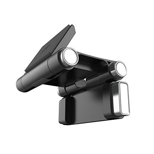 Bracketron Roadtripper Magnetic Airplane Travel Mount for Smartphones Tablets iPad Android Samsung Galaxy Tab S4 S3 Microsoft Surface Pro Asus ZenPad 3S 10 Lenovo IdeaPad Huawei Amazon Fire BT1-935-2