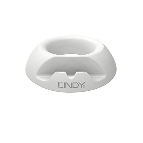 Lindy Silikon Tablet und Smartphone Ständer, Weiß