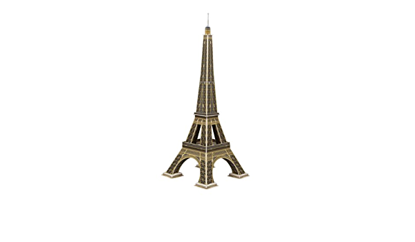 SCHOLAS SP11-0295. Puzzle 3d Torre Eiffel. 46 piezas ...