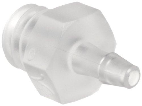 Value Plastics K210-6 Natural Polypropylene Tube Fitting,...