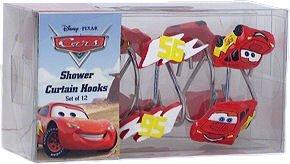 Disney Cars Shower Curtain Rings