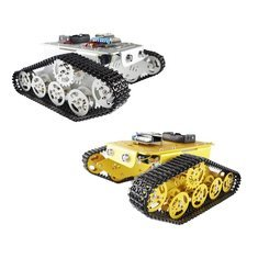 Alloy Metal Tank Track Caterpillar Chassis Smart Robot Kit