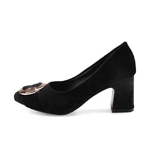 1to9 Sandales Mms06155 Femme Compensées Inconnu Noir 7wqR6x