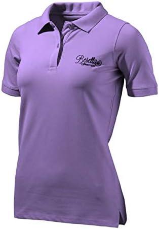 Beretta para Mujer Corporate Polo Camisa, Morado Claro, XL ...