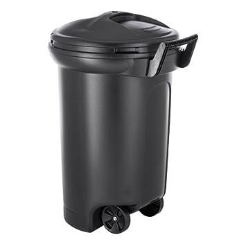 Amazon Com Hyper Tough 32 Gallon Wheeled Trash Can With Turn Lock