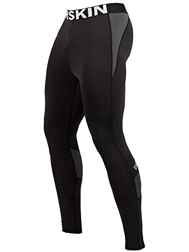 DRSKIN Compression Cool Dry Sports Tights Pants Baselayer Running Leggings Yoga Rashguard Men (Came B-G01, - For Equipment Running Men