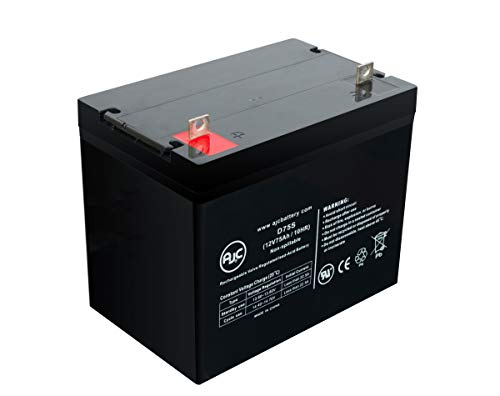 Universal Power Group 24 Patriot 12V 75Ah Wheelchair Battery - This is an AJC Brand Replacement