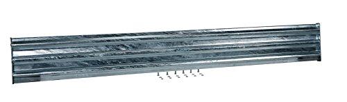 (Vestil GGR-B-8 Galvanized Bolt-On Structural Guard Rail, 90