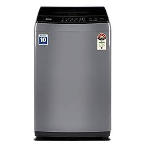 Panasonic 8 Kg 5 Star Fully-Automatic Top Loading Washing Machine (NA-F80LF1HRB, Grey)