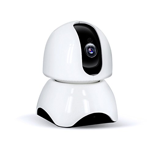 Owill Wireless HD P2P Video Camera 2MP 1080P WiFi Network Infrared Ray Night Vision IP Webcam Security Camera (White) by Owill