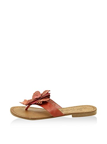 Miss Butterfly Donna - MB60_Salmon Rose - Infradito in Pelle