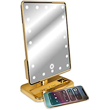 Amazon Com Melody Mirror Lighted Vanity Mirror With