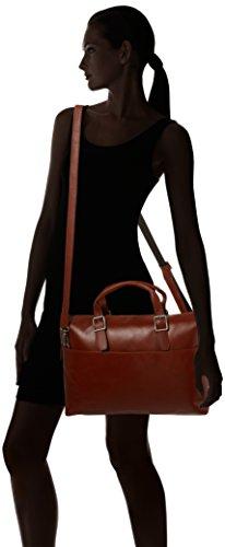 Royal RepubliQ Unisex-Erwachsene Laptop Bag Tasche, 6x30x39 cm Braun (Cognac)