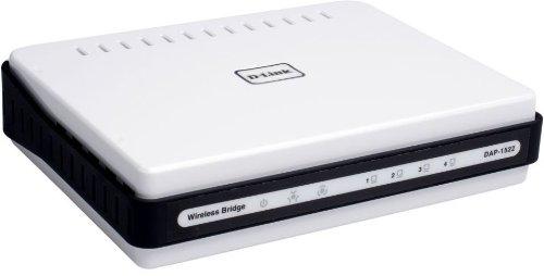 D-link Ethernet Bridge (D-Link Wireless Dual Band N 300+ Mbps Wi-Fi Gigabit Range Extender and Access Point (DAP-1522))