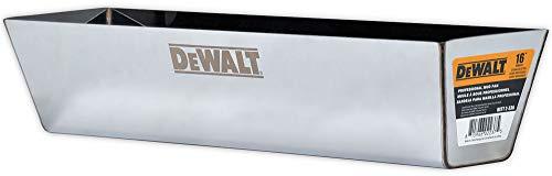 DEWALT 16-Inch Drywall Mud Pan | Stainless Steel