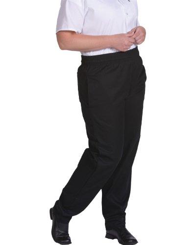 - Edwards Basic Baggy Chef Pant, BLACK, 6XLarge