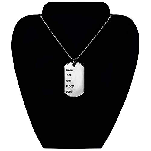 Deluxe Dog Tag Necklace ()