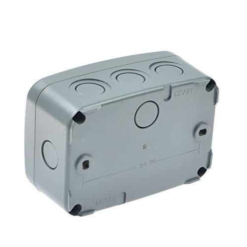 Knightsbridge IP66 Weatherproof Medium Junction Box Enclosure 125 x 86 x 62 mm
