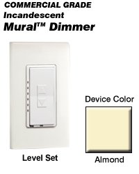MLI10-1LA Leviton Decora Mural Level Set Dimmers ()