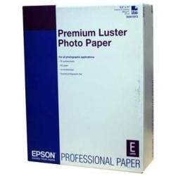 S041604 - Epson Premium Luster Photo Paper 13'' x 19'' (100 Sheets) by Epson