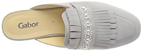 Gabor Ladies Basic Mules Gray (stone)