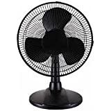 Principal 12 Table Fan, Black by Principal