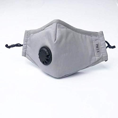 Cebbay Atmungsaktive Filter, 3 Schichten, wiederverwendbare und waschbare, komfortable