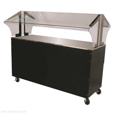 Advance Tabco B4-STU-B-SB Portable Solid Top Buffet Table (Solid Buffet Portable Table Top)