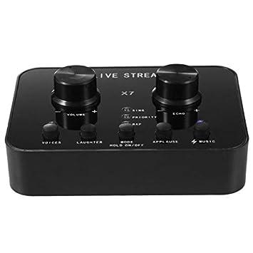 TOOGOO X7 Pc Audio USB Headset Tarjeta de Sonido MicróFono ...
