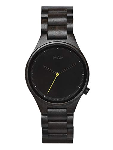 MAM Originals · Owl Limited Edition | Men's Watch | Minimalist Design | Watch Made from sustainably sourced Sandalwood | Superior Quality at an Affordable Price