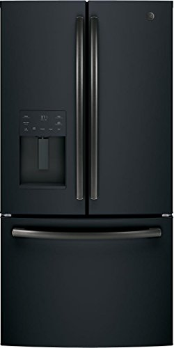 GE 25.6 Cu. Ft. French Door Refrigerator Black Slate GFE26JEMDS