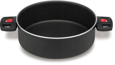 Ballarini FRA310878 Cook Serving Pan Black