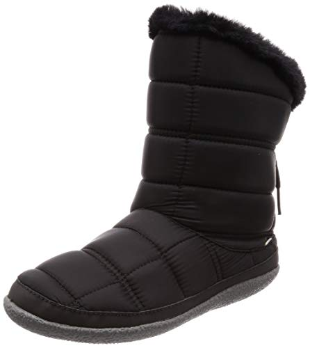 - TOMS Women's Inez Polyester Boot Black Quilted 7
