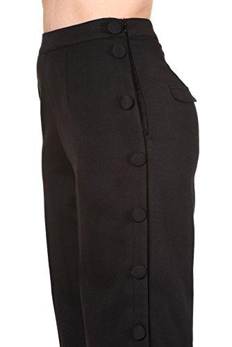 Pantalones tipo chinos de Banned modelo Shot In The Dark Negro