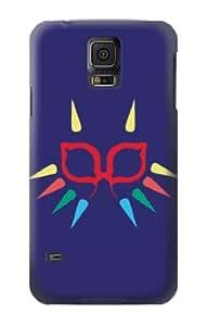 S1358 Majora Mask Minimalist Zelda Case Cover For Samsung Galaxy S5