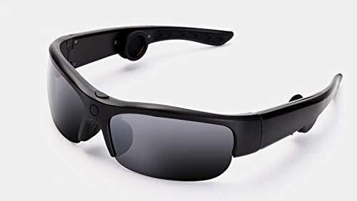 LIUQIGRASS Gafas Bluetooth de conducción ósea, conducción ósea Deportiva, Gafas de Sol Inteligentes, 3 Lentes de Color…