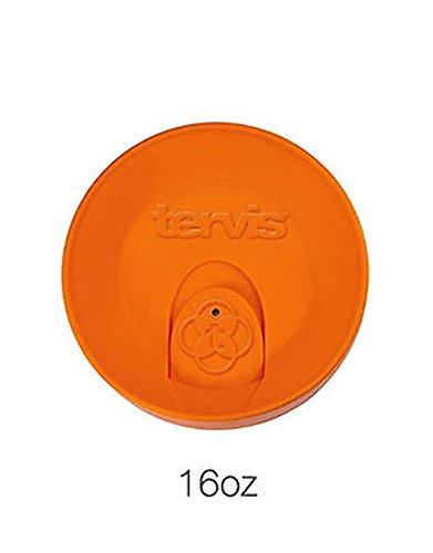 Tervis Tumbler Orange 16oz. Travel Lid (Orange Mug With Lid compare prices)
