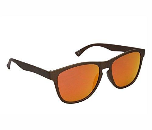 90421d58d7 IRYZ EYEWEAR Unisex Wayfarer Sunglasses (Red