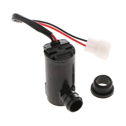 F Fityle Car Windshield Washer Pump: