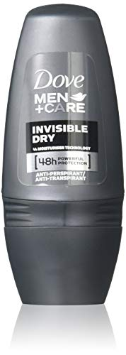 (Dove Men+Care Invisible Dry Roll-On Anti-Perspirant Deodorant 50 ml (Pack of 3) by Dove Men + Care)