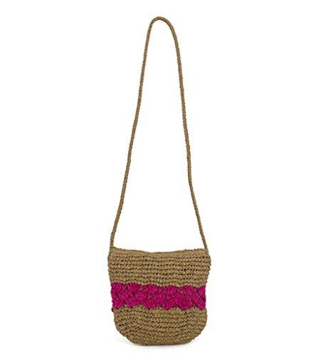 magid-color-block-crochet-crossbody-toast-fuchsia