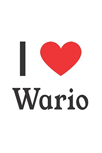 I Love Wario: Wario Designer Notebook -