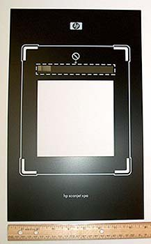 C7671-40611 - HP C7671-40611 OEM - Legal template for the active transparency adapter - 22.5